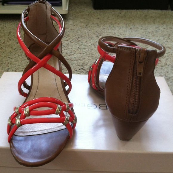 BCBG Shoes - Reserved @heather-m BCBG coral gladiator sandals 3