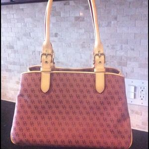 Dooney & Bourke Handbags - Dooney&Burke satchel..great earthy shade of purple