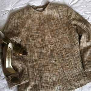 Talbots Jackets & Blazers - REDUCED! Talbots Tweed Blazer