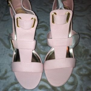 Miss Me Shoes - Pink heels reduced by $20!