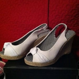 Shoes - LAST PAIRBrand new in box sling back wedge
