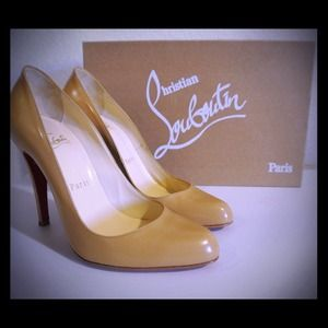 Christian Louboutin Shoes - SOLD!Authentic Christian Louboutin Décolleté heels