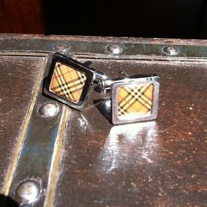 Burberry Accessories - RESERVED! Burberry Cufflinks & 2 Bracelets