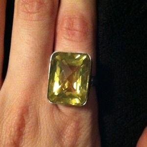 Jewelry - Sterling silver and lemon quartz Brand new