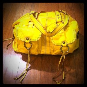 Forever 21 Handbags - Large yellow purse