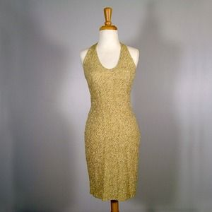 Glitter Gold Dress reserved muneca1976