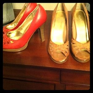 Charlotte Russe Shoes - Charlotte russe heels - trade for bstrength