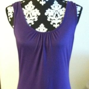 Purple tank brand new with tags