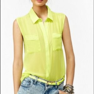Tops - Sheer chiffon top - bundle listing 1