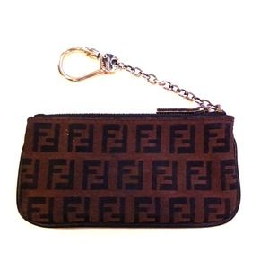 FENDI Clutches & Wallets - Fendi card holder / keychain