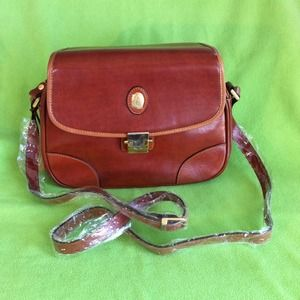 Handbags -  Leather Messenger Bag 