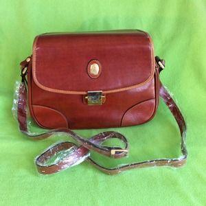Handbags -  Leather Messenger Bag 