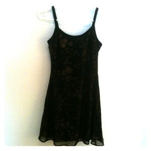 The Original USA Dresses & Skirts - Short black & bronze dress size M