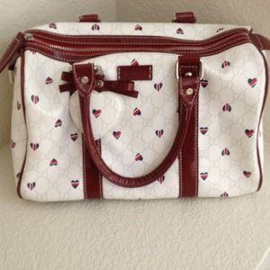 Gucci Handbags - Reserved for @bombshellyezi Gucci Boston Bag