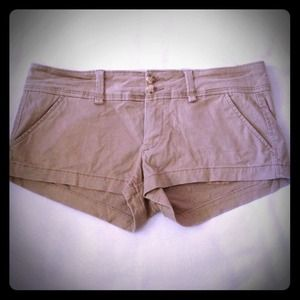Abercrombie & Fitch Pants - NWT!! Soft Khaki shorts. Perfect!!