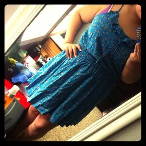 Dresses & Skirts - summer blue dress