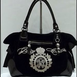 Authentic Juicy Couture large velour bag