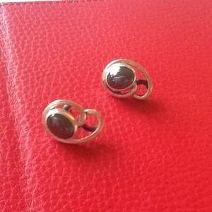 Jewelry - Sterling Silver & Hematite Earrings