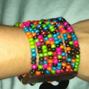 Brand new w tag- multi colored bracelet