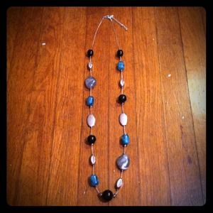 Jewelry - Silver, black, & turquoise necklace