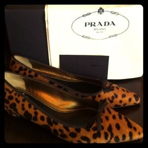 Prada Shoes - Authentic Prada Horsehair Shoes