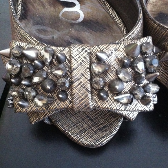 Sam Edelman Shoes - Sam Edelman Lorna (Pewter Metal) 8.5