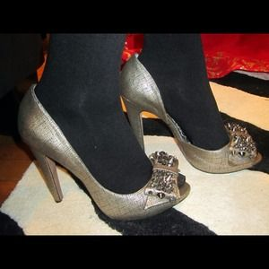 Sam Edelman Shoes - Sam Edelman Lorna (Pewter Metal) 8.5 1