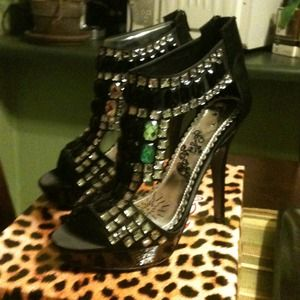 Shoes - REDUCED Naughty Monkey platform shoes. Brand new