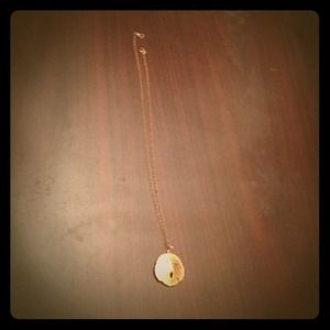 Jewelry - Gold sandollar necklace!