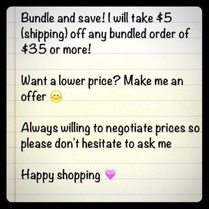 Other - Bundling saves 👍 ALL prices negotiable