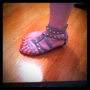 Shoes - Size 9 studded gladiators