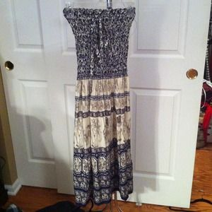 Dresses & Skirts - Boho style maxi dress/skirt