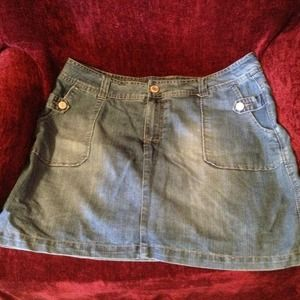 Denim - ***Reduced***Women's denim skirt/skort