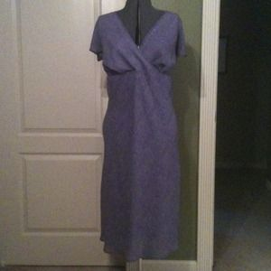 Dresses & Skirts - Purple print dress
