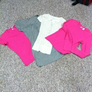 Shirt bundle-pink shirts left