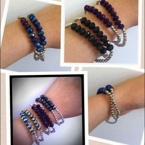 Jewelry - Sparkle Stack Bracelet