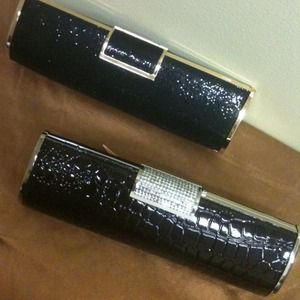 Handbags - 2 GORGEOUS CLUTCHES $REDUCED$