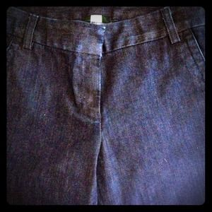 "J. Crew Dark Blue City Fit Trouser Jeans 30"" Waist"
