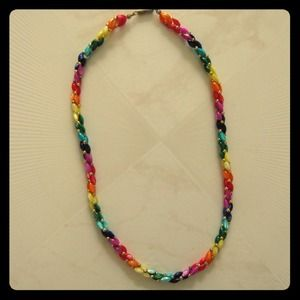 Jewelry - New - Multi-colored Beaded Necklace