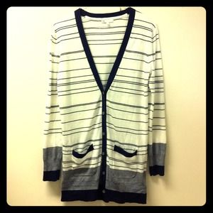 GAP Sweaters - Brand New✨Long Stripes Cardigan