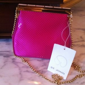 ST. JOHN Designer Clutch/ Evening Purse💗💗💗NWT