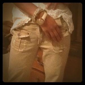 Z Cavaricci Pants - Nice Beige jeans