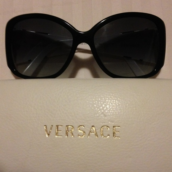 Versace Accessories - Black and white Versace sunglasses