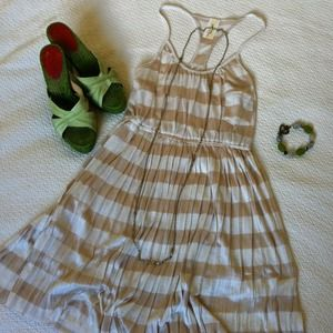 Dresses & Skirts - RESERVED! NWOT! Striped Racerback Dress & Cami's
