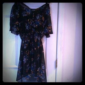 Xhilaration Dresses & Skirts - Boho Chick floral dress