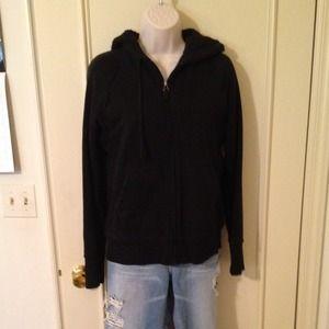 Jackets & Blazers - Sizesmallblackfrontziphoodie2sidepockets
