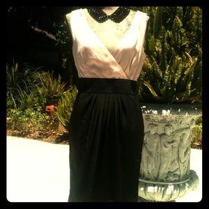 Dresses & Skirts - REDUCEDSilk two toned dress