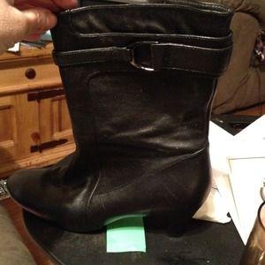 Cole Haan shoe boot.