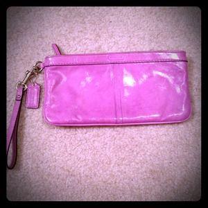 Lavender Coach clutch