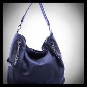 Handbags - Black Hobo Purse